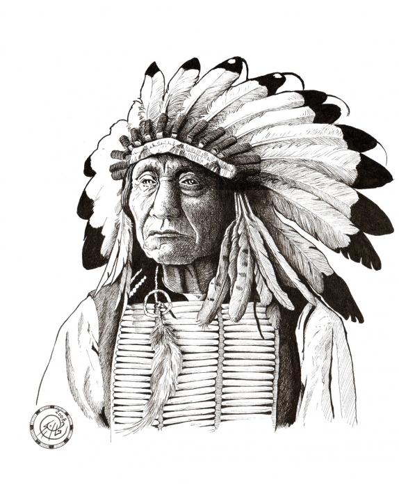 Red Cloud par PhilLP